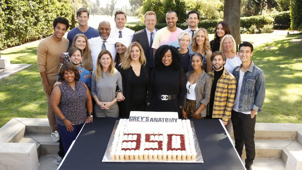 See the 'Grey's Anatomy' Cast Celebrate 350 Episodes (PHOTOS)