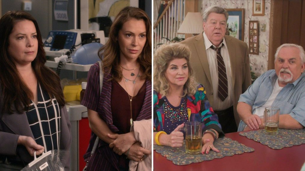 'Charmed' Sisters on 'Grey's,' 'Cheers' to 'Goldbergs' & More ABC Reunions (VIDEO)