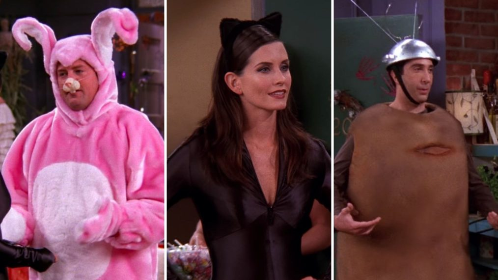 All 8 Costumes Worn on the 'Friends' Halloween Episode (PHOTOS)