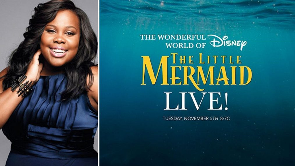 'The Little Mermaid Live' Casts 'Glee' Star Amber Riley in Key Role