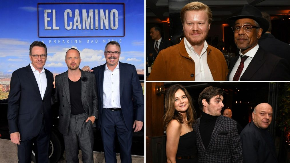 The 'Breaking Bad' Cast Reunites at the 'El Camino' Premiere (PHOTOS)
