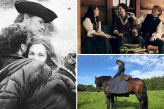 'Outlander' Season 5: See the Stars Behind the Scenes in Scotland (PHOTOS)