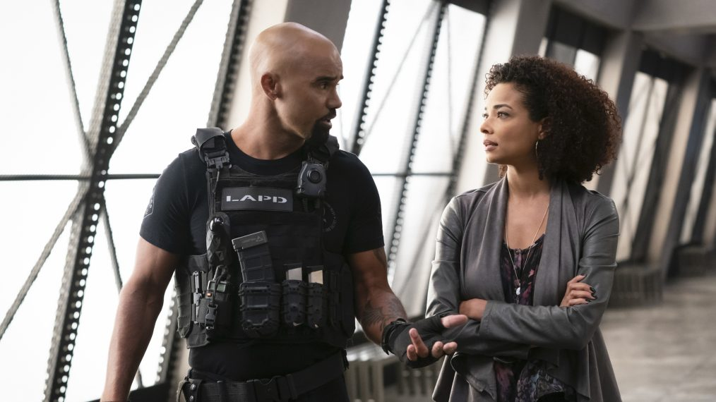 Rochelle Aytes on Rekindling Her 'Criminal Minds' Romance on 'S.W.A.T.'