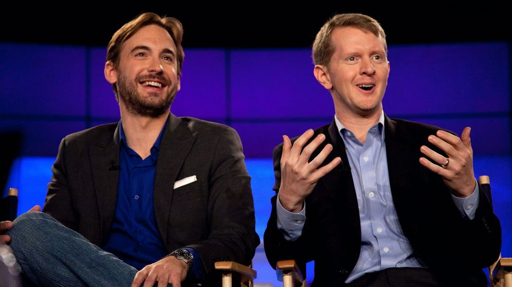 Jeopardy's Brad Rutter and Ken Jennings