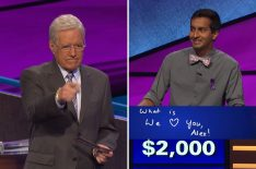 'Jeopardy!': Contestant's Final Answer Chokes Up Alex Trebek in Sweet Moment (VIDEO)