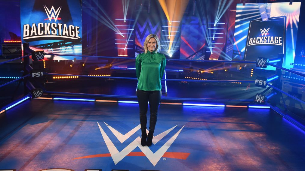 Renee Young on Stepping Into 'WWE Backstage,' CM Punk Joining Panel & Her Love of Hallmark
