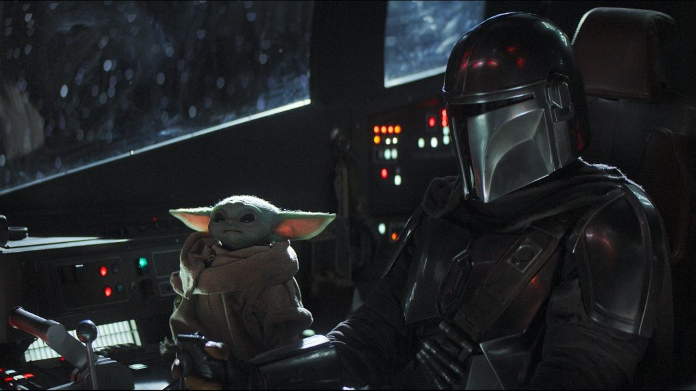 the mandalorian mando and the child