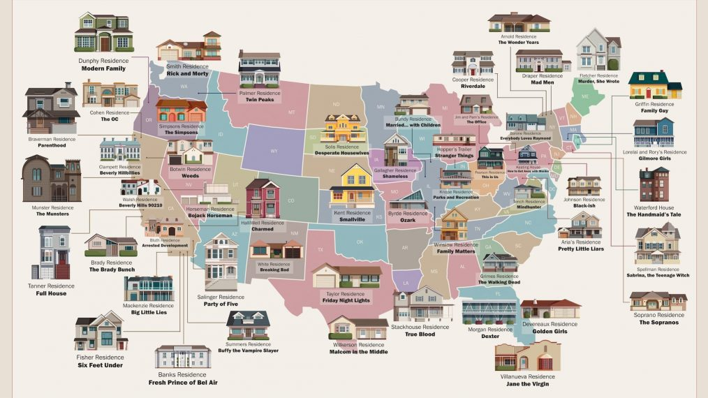 TV Homes Map