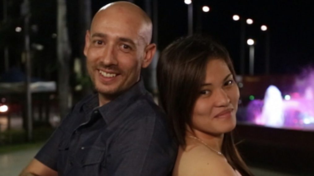 Larry + Jenny Before the 90 Days TLC