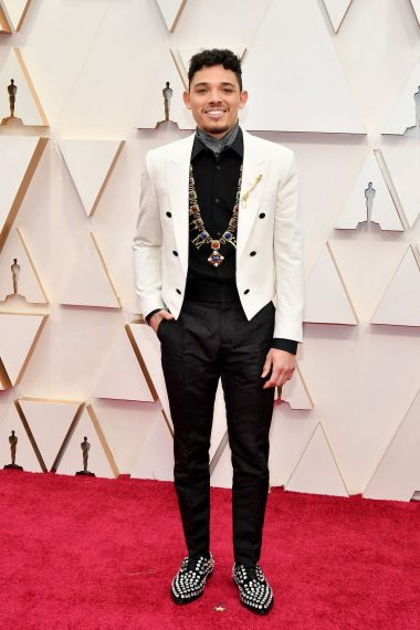Oscars 2020 Red Carpet Anthony Ramos