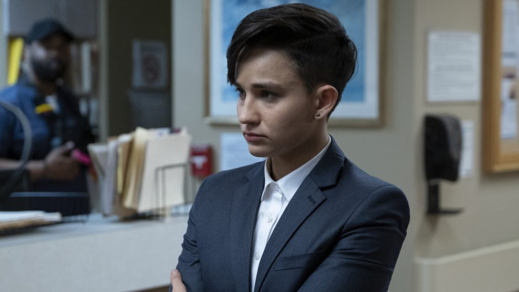Bex Taylor Klaus Deputy Season 1 Bishop Non-Binary