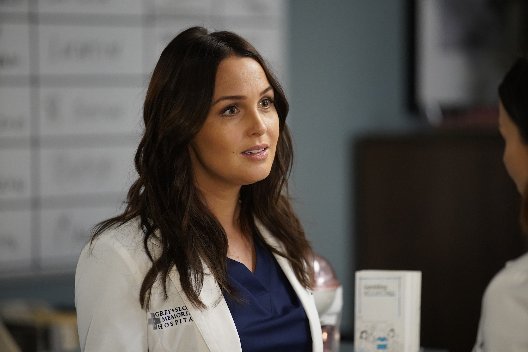 Camilla Luddington Grey's Anatomy Season 16 Episode 13 Jo Karev