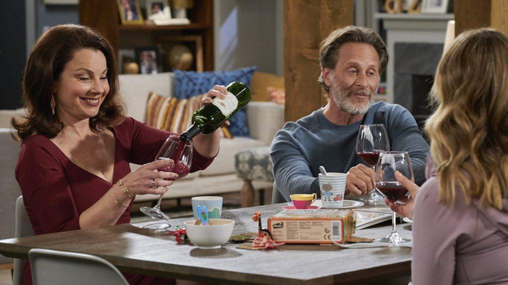 Fran Drescher Steven Weber Indebted Season 1