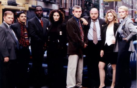 NYPD Blue Cast Group Photo
