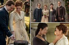 'Outlander' Celebrates Roger & Bree's Wedding in Season 5 Sneak Peek (PHOTOS)