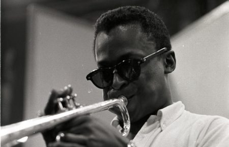 PBS AMERICAN MASTERS MILES DAVIS BIRTH OF THE COOL MILES DAVIS HORN PRACTICE