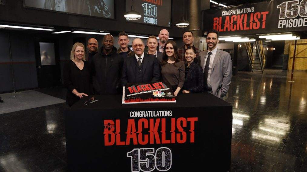 The Blacklist 150 Episodes Celebration Photo