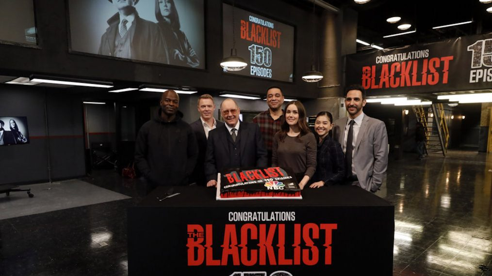 The Blacklist 150 Episodes Cake Celebration
