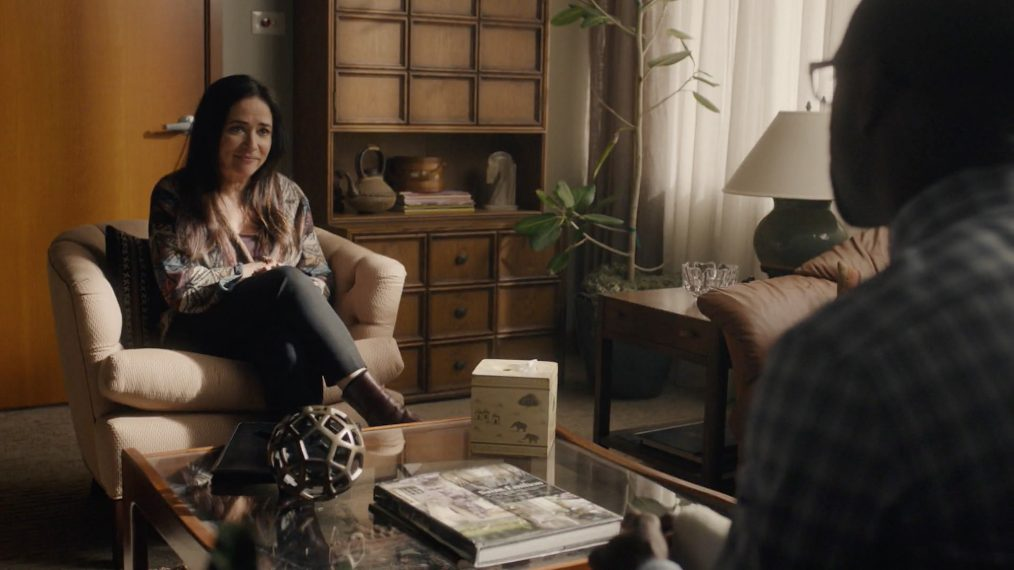 Pamela Adlon This Is Us Off-Screen Randall Therapy