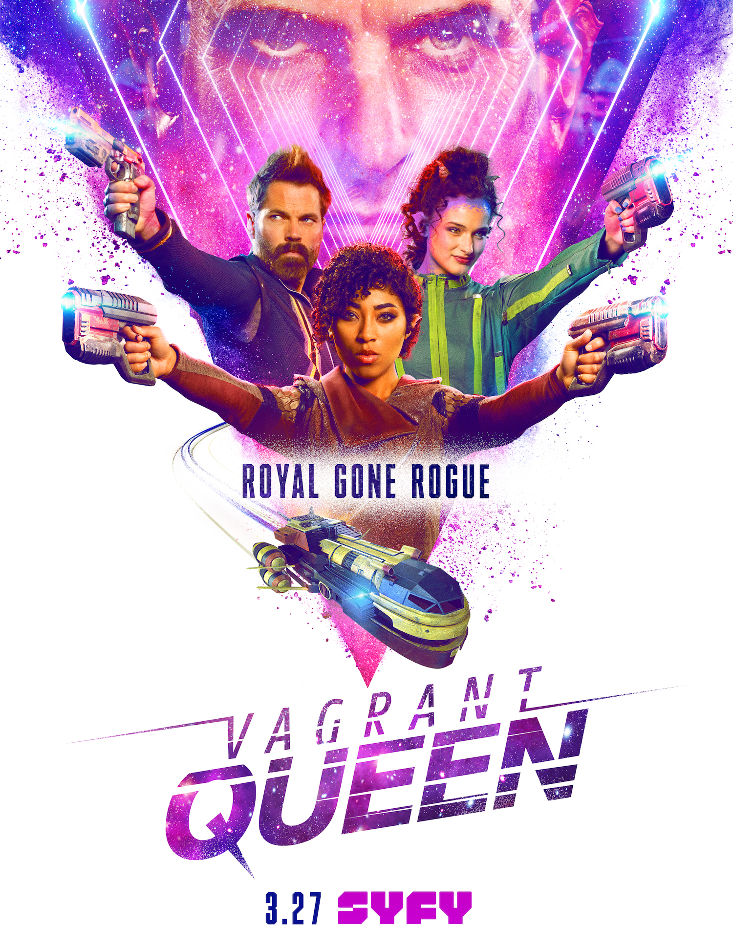 Syfy Vagrant Queen Adriyan Rae Tim Rozon Alex McGregor