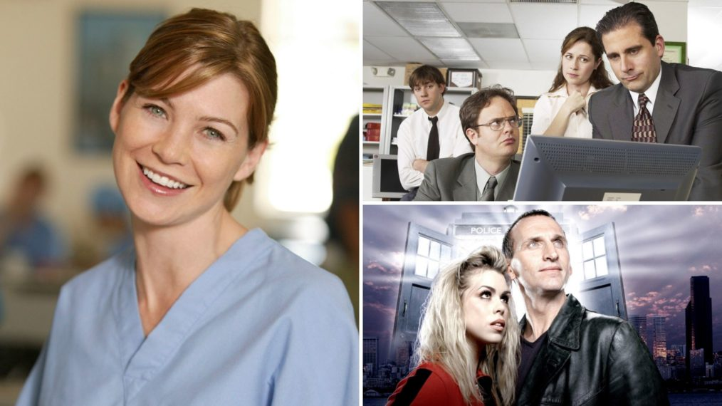 Greys Anatomy The Office Doctor Who