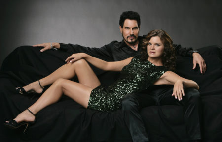 The Bold and the Beautiful Don Diamont Heather Tom