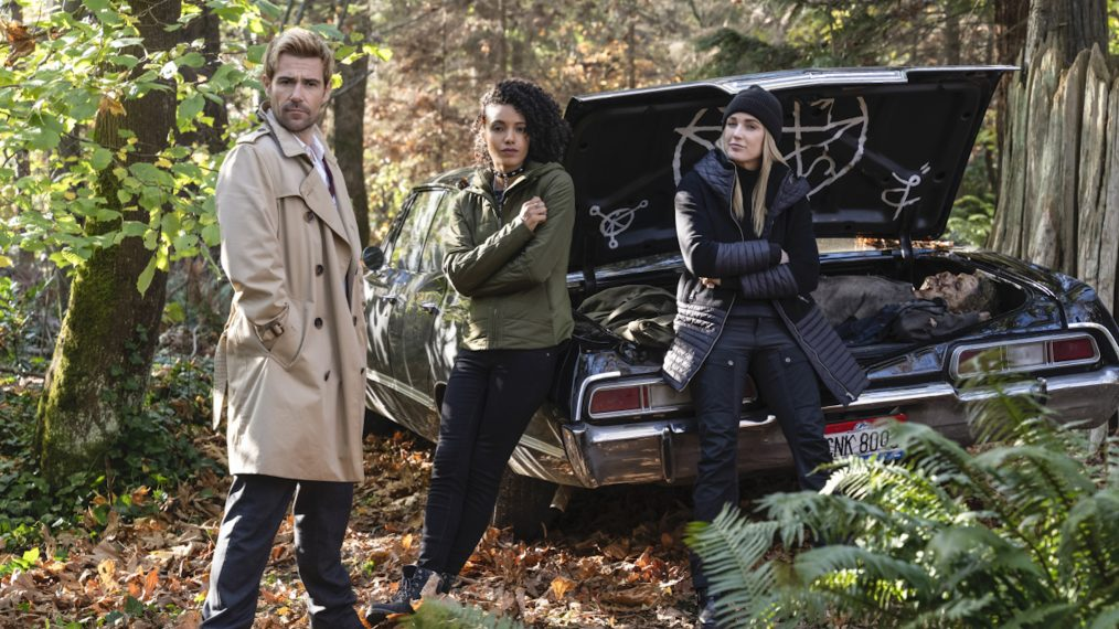 Legends of Tomorrow Season 5 Episode 9 Supernatural Crossover Impala