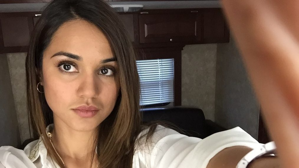 The Magicians Ending Summer Bishil Set Selfie