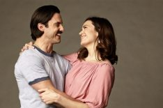 'This Is Us' Mandy Moore & Milo Ventimiglia Open Up About Their TV Marriage (VIDEO)