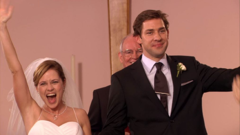 The Office Jim Pam Wedding