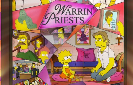 The Simpsons Warrin' Preists