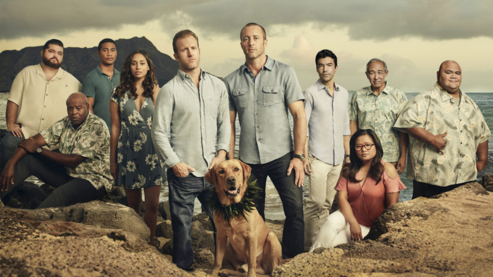 CBS Crossovers Connected Hawaii Five-0