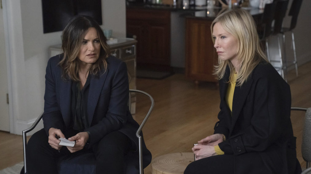 Law & Order SVU Season 21 Episode 19 Mariska Hargitay Kelli Giddish
