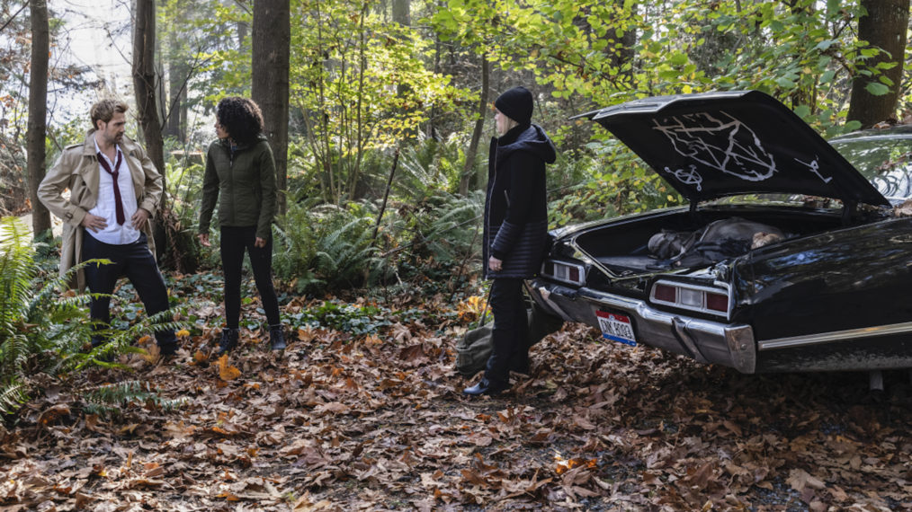 Legends of Tomorrow Supernatural Crossover Impala