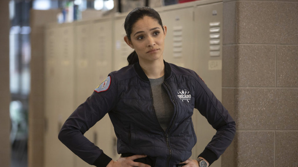 One Chicago Fire Crossover Character Stella Kidd
