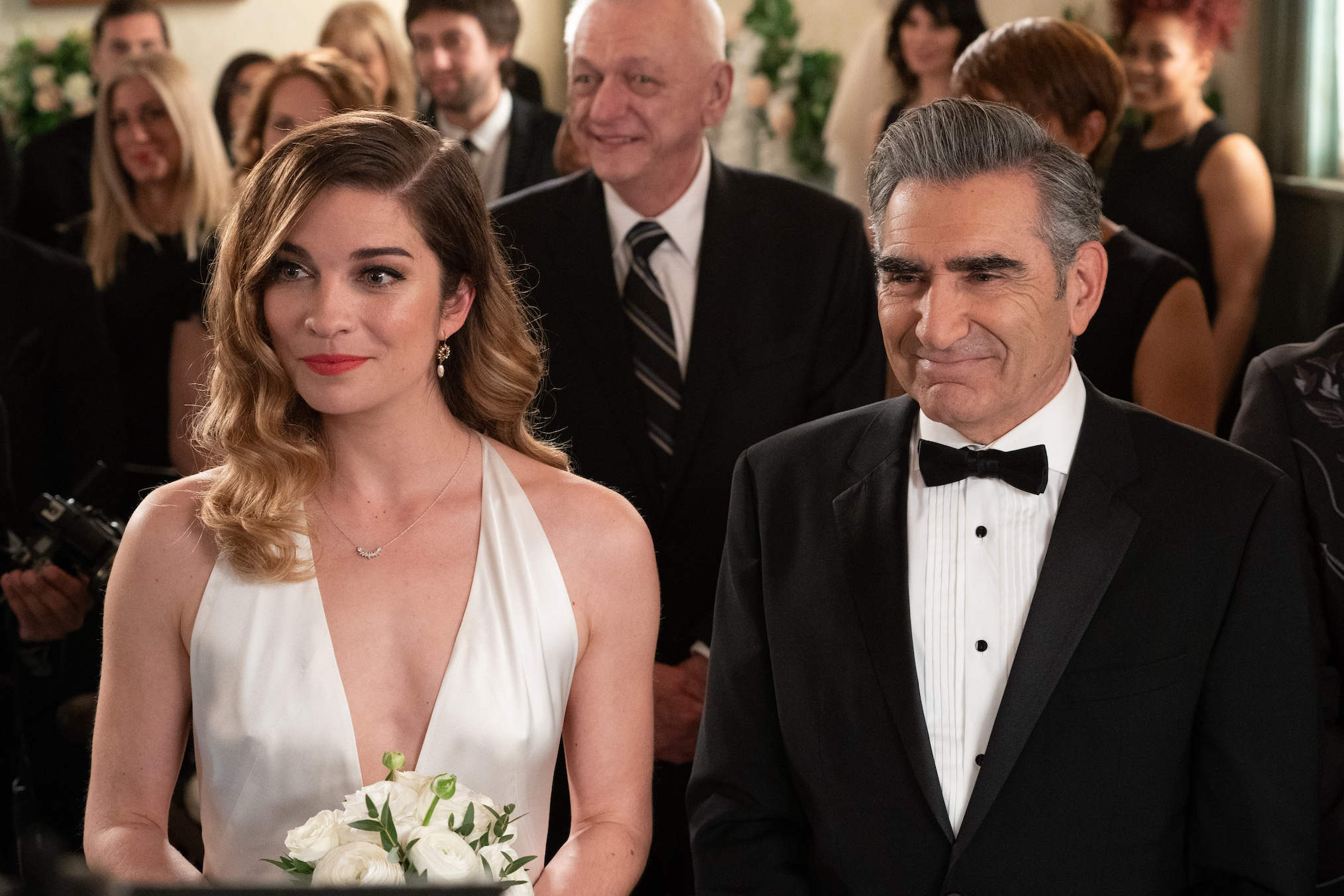 Schitt's Creek Series Finale Annie Murphy Eugene Levy Alexis Johnny
