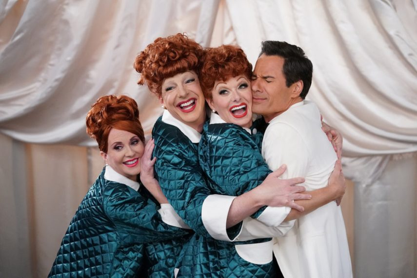 Will & Grace cast I Love Lucy