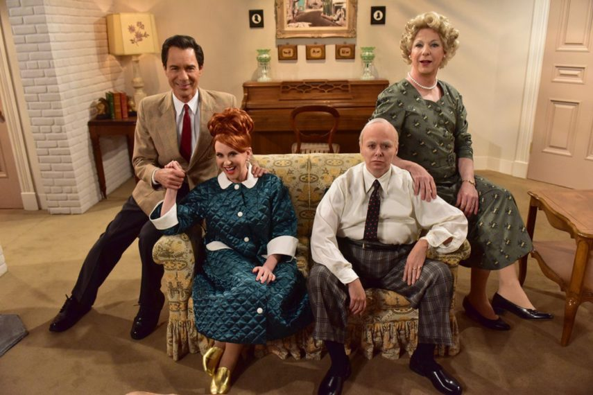Will & Grace cast I Love Lucy Episode