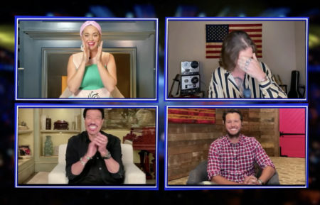 American Idol - LIONEL RICHIE, KATY PERRY, LUKE BRYAN, DILLON JAMES