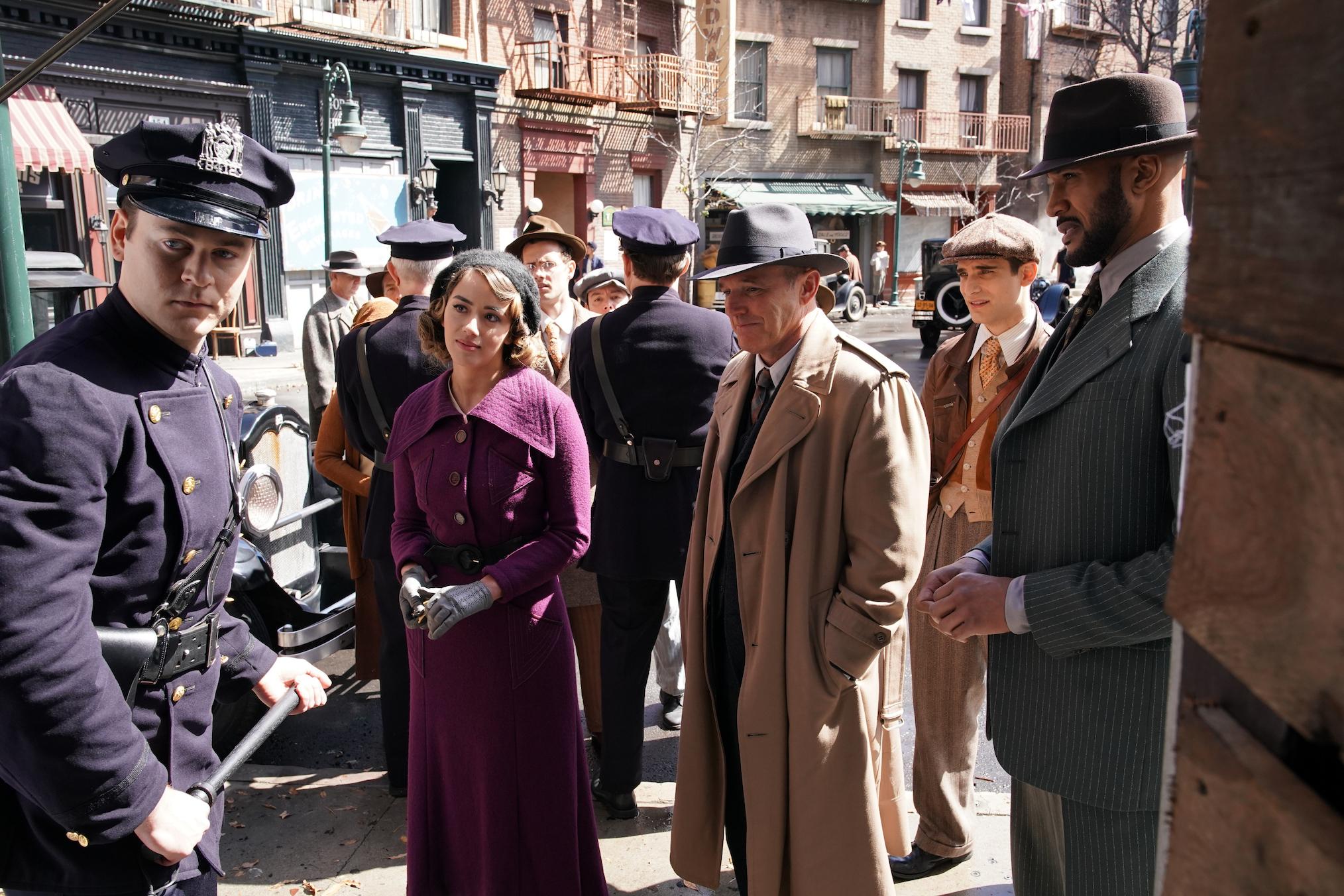 Agents of SHIELD Season 7 Time Travel Team New York