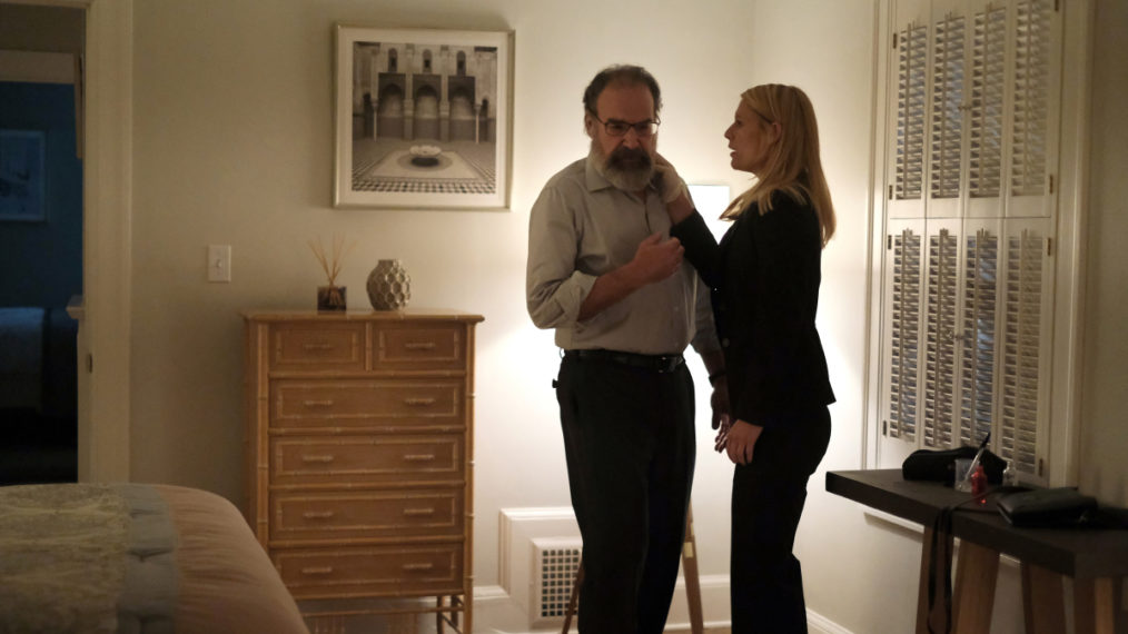 Mandy Patinkin and Claire Danes in 'Homeland'
