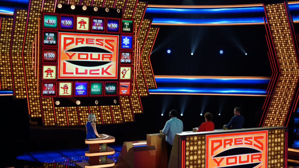 TV Competition Game Shows 2020 Press Your Luck