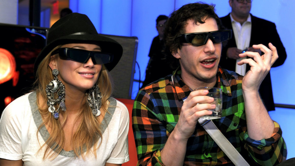 3D Television Hilary Duff Andy Samberg