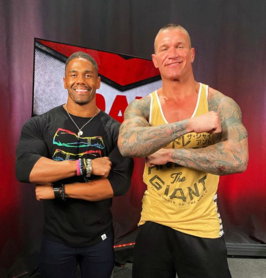 Darren Young and Randy Orton