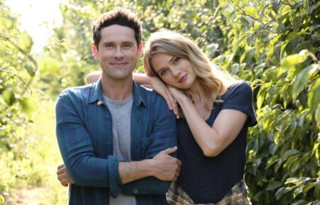 Hallmark Channel 2019 Love Under the Olive Tree Benjamin Hollingsworth Tori Anderson vineyard