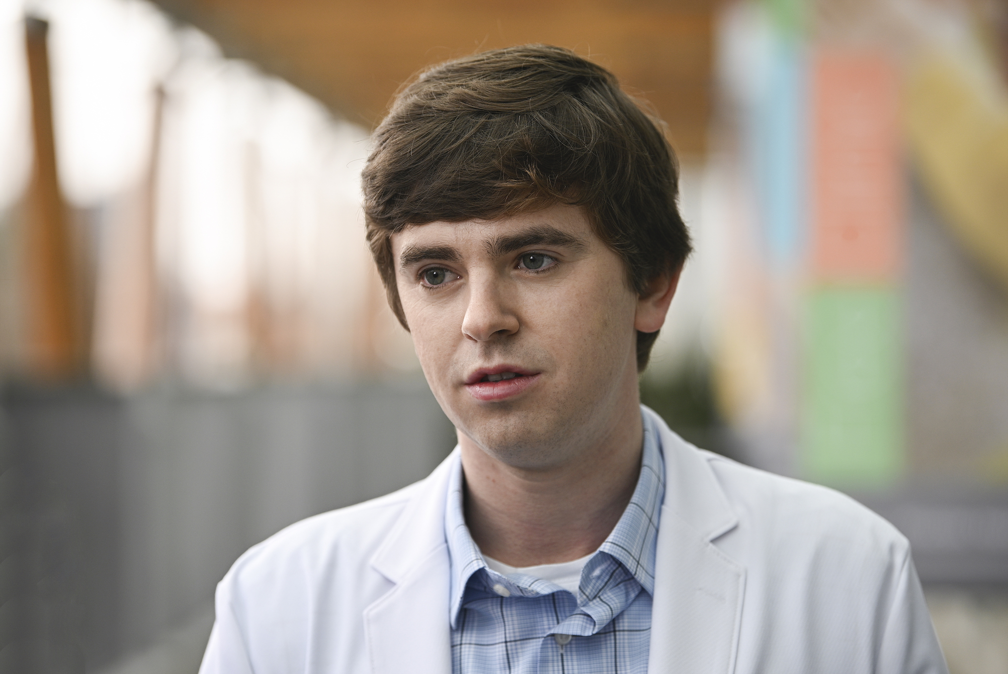 Freddie Highmore The Good Doctor Shaun Murphy