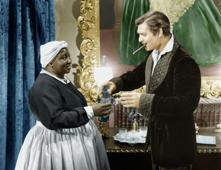 Gone with the Wind; Hattie McDaniel; Clark Gable