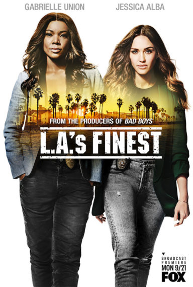 LA's Finest Fox Premiere Key Art