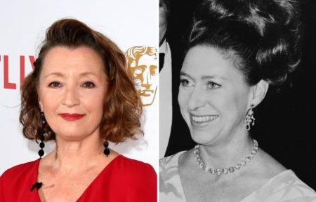 Lesley Manville princess Margaret the Crown
