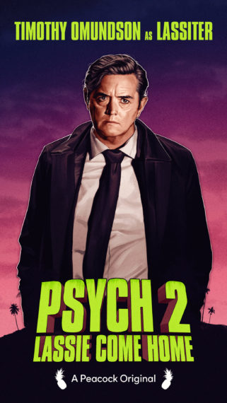 Psych 2 Lassie Come Home Lassiter Poster